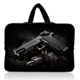 "Huado pánská taška pro notebook 17.4"" Revolver 9 mm"