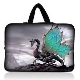 """Huado pánská taška pro notebook 17.4"""" Drak na skále"""