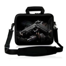 """Huado pánská brašna na notebook 17.4"""" Revolver 9 mm"""