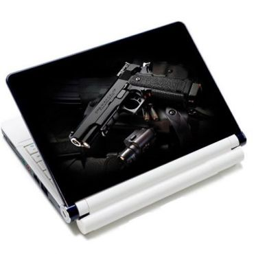 """Huado fólie na notebook 12-15.6"""" Revolver 9 mm"""