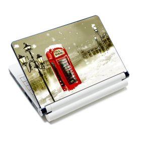"""Huado fólie na notebook 12-15.6"""" Telefonní budka"""