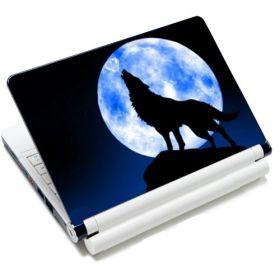 """Huado fólie na notebook 12-15.6"""" Vlk vyjící na měsíc"""