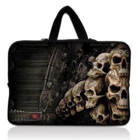 """Huado pánská taška pro notebook 15.6"""" Lebky v kryptě"""