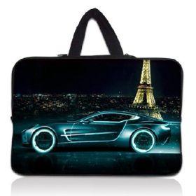"""Huado pánská taška pro notebook 17.4"""" Noční Paríž"""
