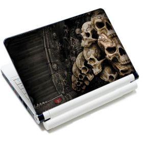 """Huado fólie na notebook 12-15.6"""" Lebky v kryptě"""