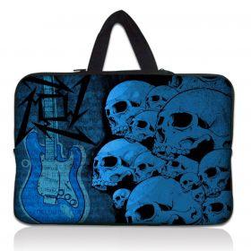 """Huado pánská taška pro notebook 15.6"""" Lebky a kytara"""