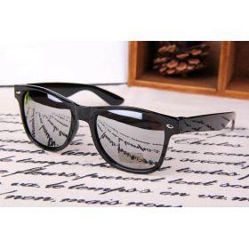 Sluneční brýle wayfarer stříbrné zrcadlovky