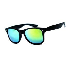 Sluneční brýle wayfarer zelené zrcadlovky