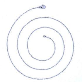 Řetízek z chirurgické oceli Clasic 2mm / 40-55cm