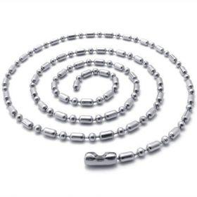 Kuličkový řetízek z chirurgické oceli - Rival 60 cm