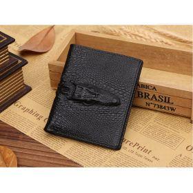 Pánská peněženka z imitace krokodýlí kůže slim