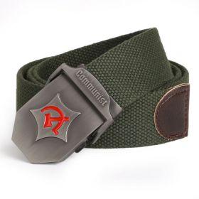 Unisex pásek Army zelený Communist