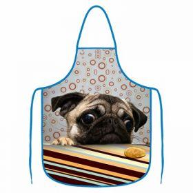 Kuchyňská zástěra - Mopsík