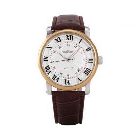 Pánské automatické hodinky Winner Gentle gold