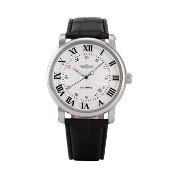 Pánské automatické hodinky Winner Gentle silver