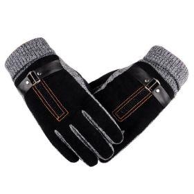 Pánské zateplené rukavice Bobby černé