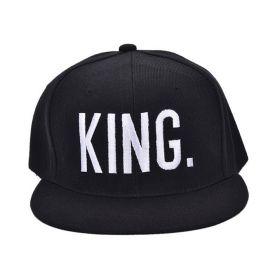 Kšiltovka s nápisem Král - KING černá