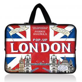 """Huado pánská taška pro notebook 17.4"""" Britain Trip"""