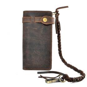 Pánská kožená peněženka s poutkem VRM-14CW