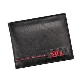 Always Wild pánská kožená peněženka Red Line