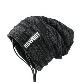 HSWBoy pánská zimní čepice Černá