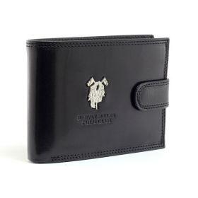 Harvey Miller pánská kožená peněženka černá