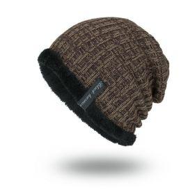 Black human pánská zimní čepice Hnědá