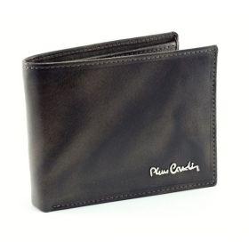 Pierre Cardin pánská kožená peněženka Dark