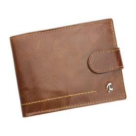 Rovicky pánská kožená peněženka long hnědá