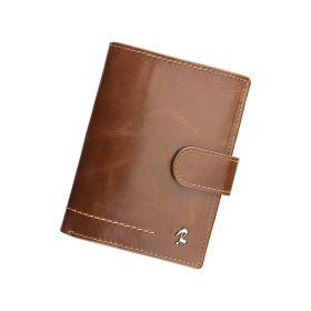 Rovicky pánská kožená peněženka Toe Hnědá