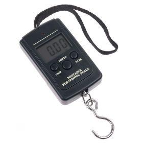 Přenosná váha s LCD na zavazadla