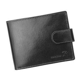 Ronaldo pánská kožená peněženka černá
