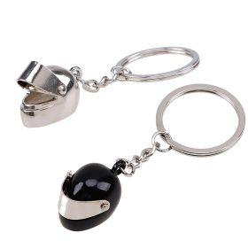 Ocelové klíčenky pro pár Moto Helmy