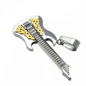 Přívěsek z chirurgické oceli - Kytara Metal
