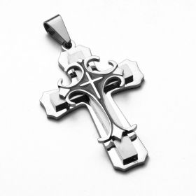 Přívěsek z chirurgické oceli - Křížek Various