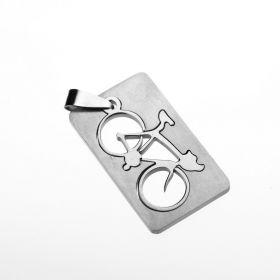 Přívěsek z chirurgické oceli - Kolo - bike