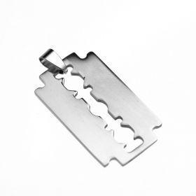 Přívěsek z chirurgické oceli - Žiletka