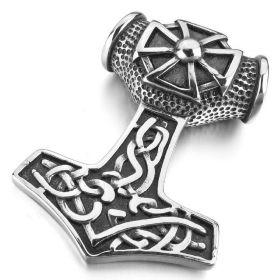 Přívěsek z chirurgické oceli Thorovo kladivo