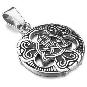 Přívěsek z oceli Keltský uzel Cheilteach