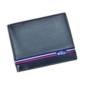 Always Wild pánská kožená peněženka Blue Line