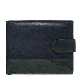 Always Wild pánská kožená peněženka Wesly modrá