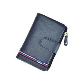 Always Wild dámská kožená peněženka Celtic Modrá
