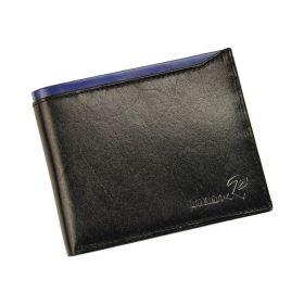 Ronaldo pánská kožená lesklá peněženka RFID