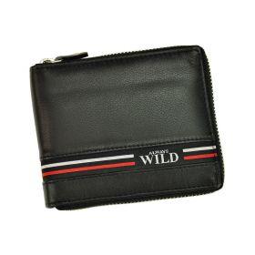 Always Wild pánská kožená peněženka GV Černá