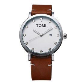 Tomi pánské hodinky MODERN ELegan Hnědé
