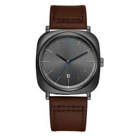 Tomi pánské hodinky Square Vision Black