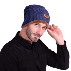 Rendt pánská zimní čepice Modrá