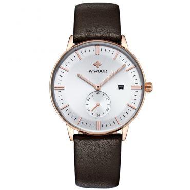 WWOOR pánské hodinky s datumovníkem Goldmember