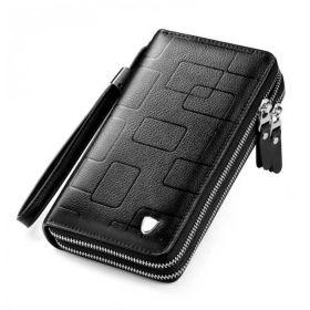 Vormor pánská kožená peněženka Bucks černá