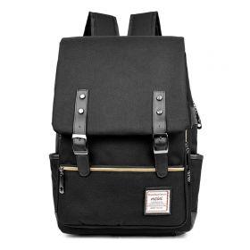 RETRO Textilní batoh Mein Černý Ninja